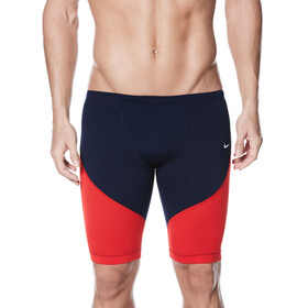 Nike Swim Poly Color Surge Jammer Men Red/Navy